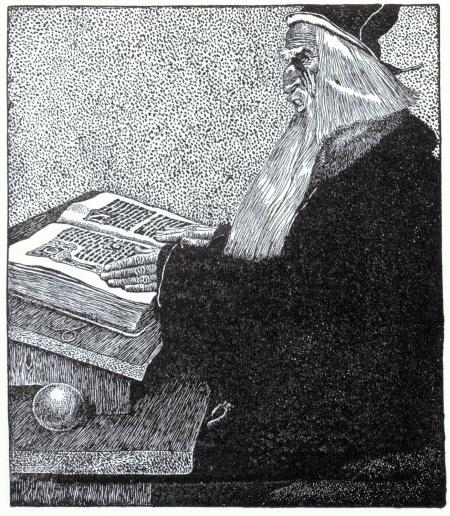 Arthur-Pyle_The_Enchanter_Merlin